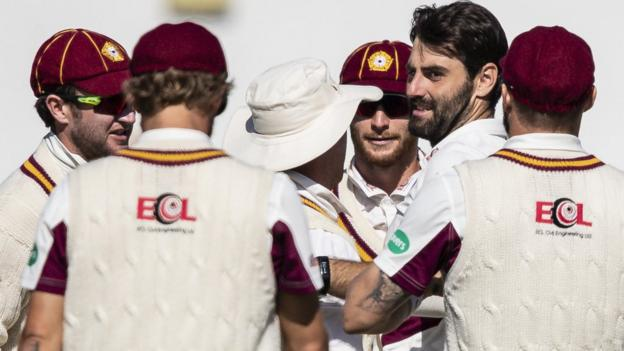 County Championship: Northants on brink of promotion by beating Durham