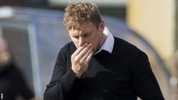 Inverness Caledonian Thistle manager Richie Foran
