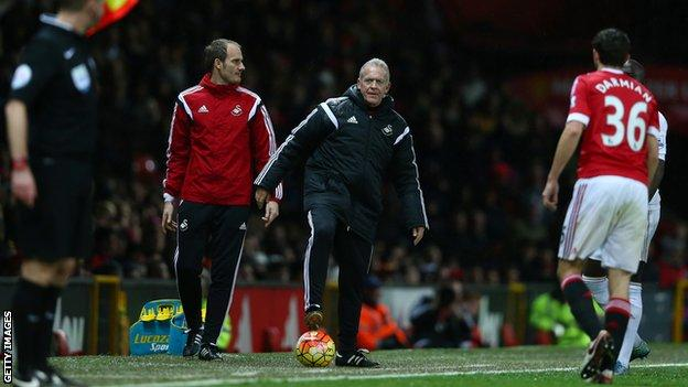 David Adams worked alongside Alan Curtis when he had a spell in charge at Swansea City in the 2015-16 Premier League season