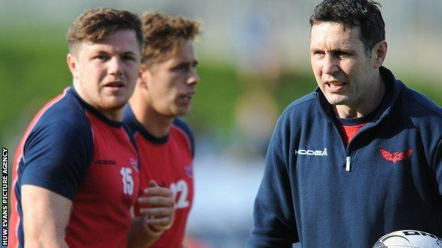 Stephen Jones spent three years at Wasps before returning to the Scarlets as backs coach