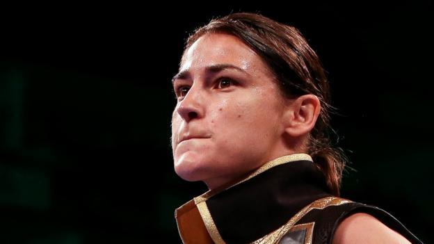 Katie Taylor: Dominant Irish woman beats Serrano to retain world titles thumbnail