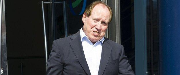 Outgoing Kilmarnock manager Jim Mann
