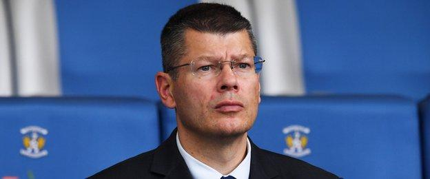 SPFL chief executive Neil Doncaster