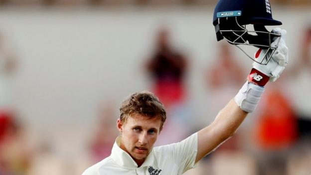 England in West Indies: Joe Root hits unbeaten century as tourists dominate in St Lucia thumbnail