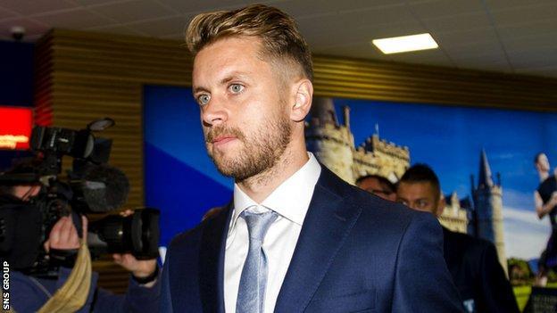Malmo midfielder Kari Arnason