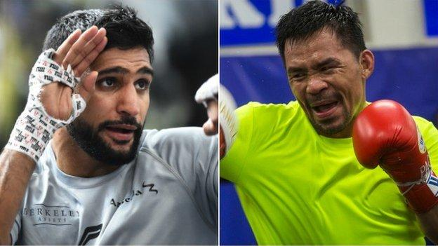 Khan has pursued a bout with Pacquiao for several years
