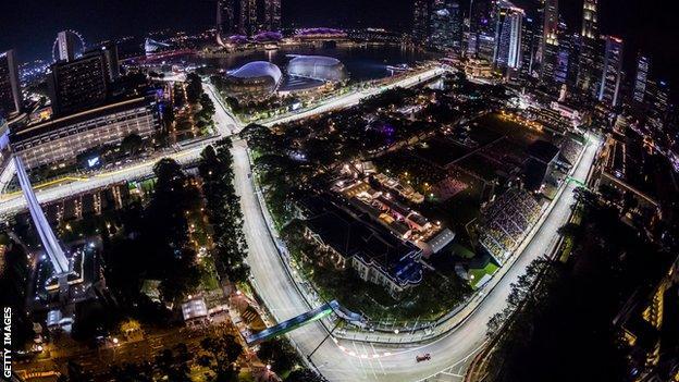 Singapore Grand Prix's Marina Bay Circuit