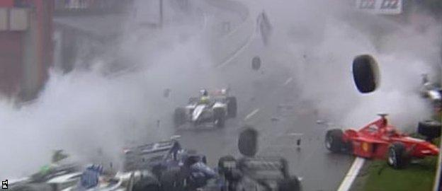 Spa Crash 5