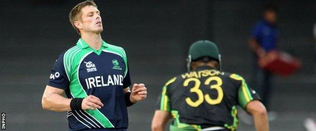 Boyd Rankin took 112 wickets in 82 Ireland appearance before his move to England in 2012