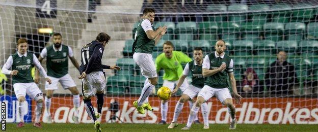 Falkirk drew 1-1 on their last visit to Easter Road