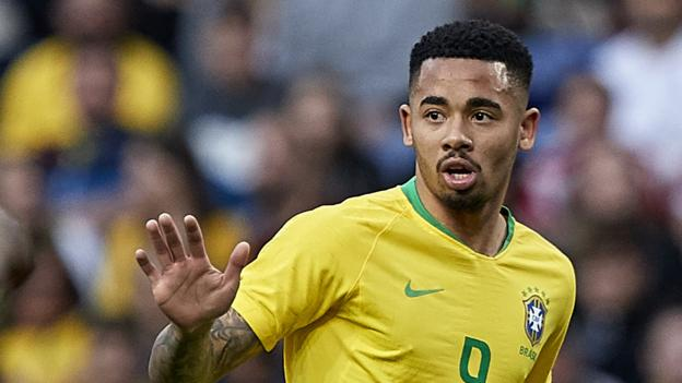 Czech Republic 1-3 Brazil: Firmino and Jesus score in comeback victory thumbnail