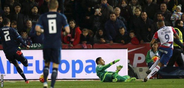 Yousseff El-Arabi scores for Granada