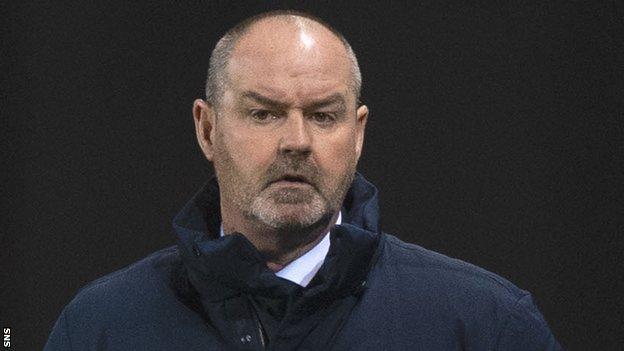Kilmarnock boss Steve Clarke