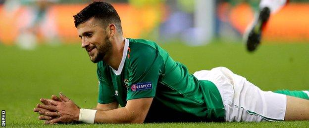 Shane Long has not featured in recent Republic squads