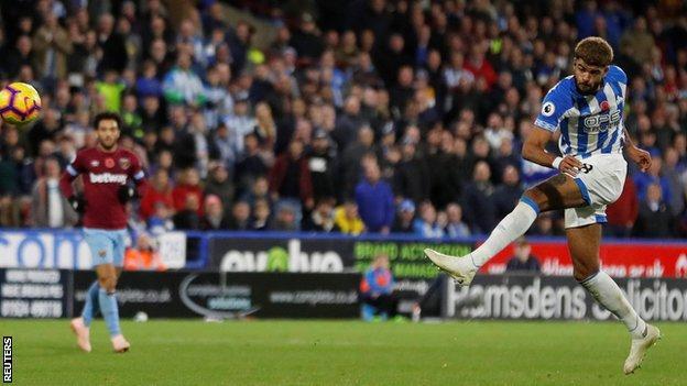 Huddersfield's Philip Billing