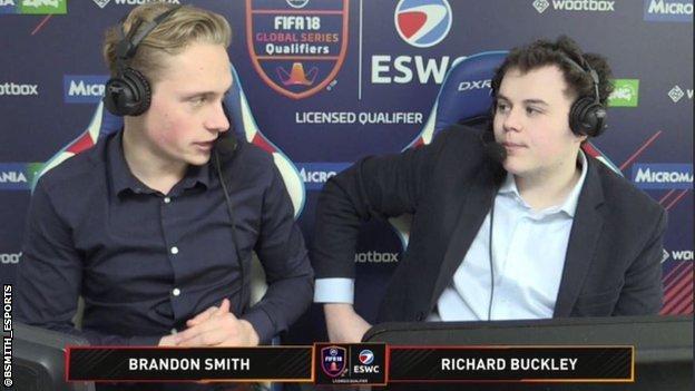 Brandon Smith and Richard Buckley