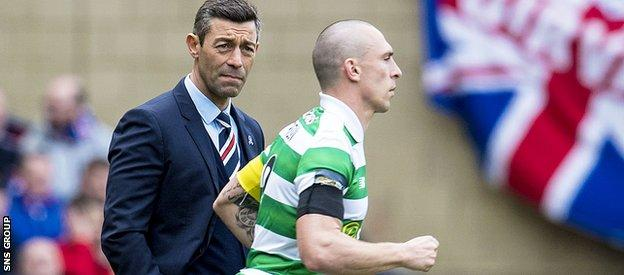 Pedro Caixinha's appointment did not change Rangers fortunes against their rivals