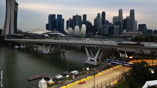 Singapore Grand Prix's Marina Bay Street Circuit Guide