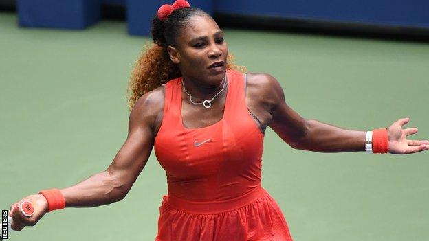 US Open 2020: Serena Williams overcomes Tsvetana Pironkova to reach semi-finals thumbnail