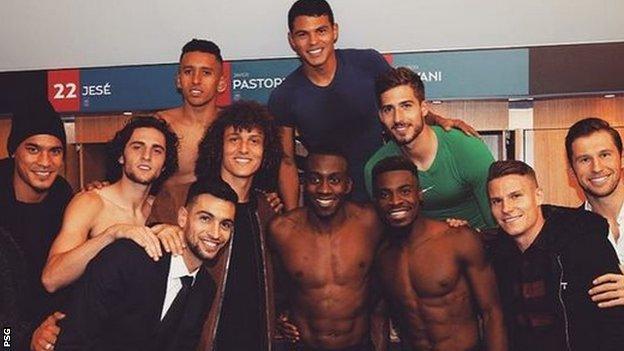 PSG players