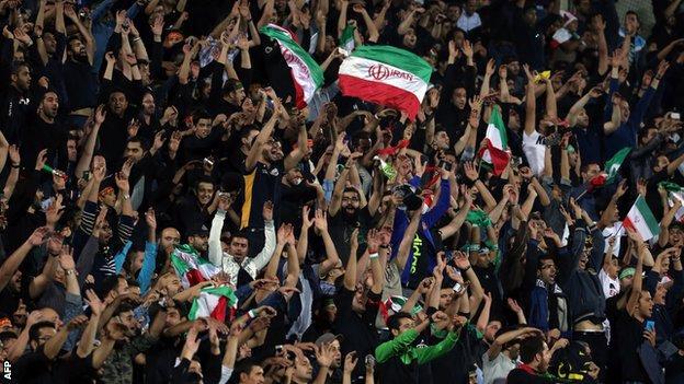 Iran v South Korea