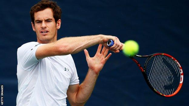 Andy Murray has made the US Open and the Davis Cup his priority