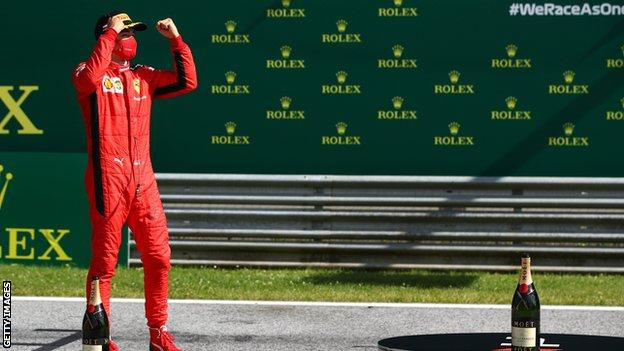 Formula 1: Charles Leclerc warned for breaking coronavirus rules