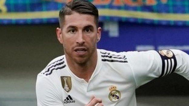 449891348f78 Real Madrid captain Sergio Ramos  vehemently opposed  to doping - BBC Sport