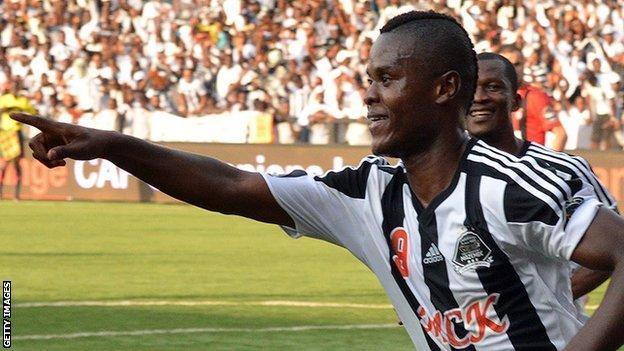 Tanzania international striker Mbwana Samatta