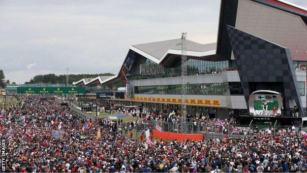 The British Grand Prix at Silverstone is normally one of the highlights of the sporting summer