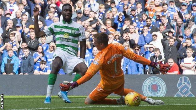 Odsonne Edouard slides Celtic in front