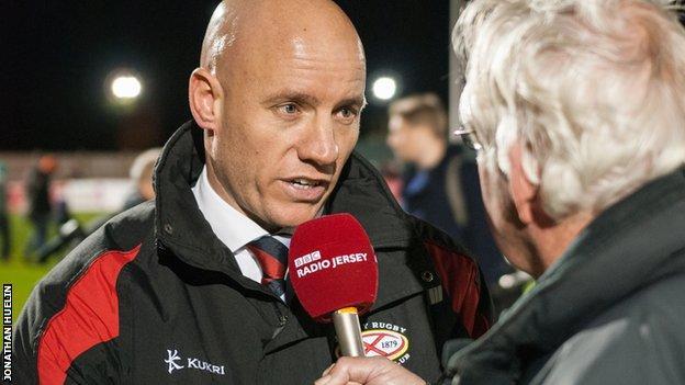 Harvey Biljon speaks to the BBC