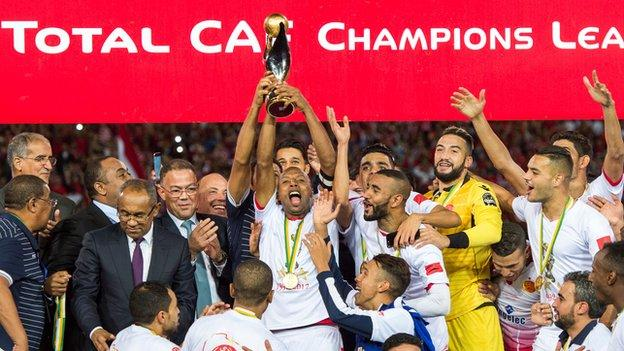 Wydad Casablanca are crowned Caf Super Cup champions