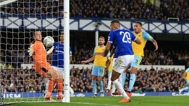 Everton Too Strong For Rotherham In Carabao Cup Bbc Sport