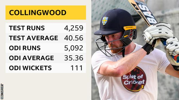 Paul Collingwood international record