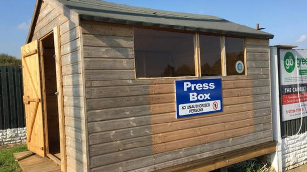 The Press Box at Shaw Lane