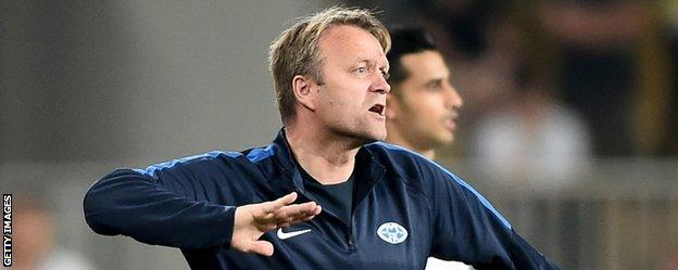 Molde caretaker boss Erling Moe