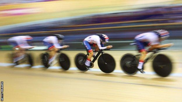 Great Britain's women's track cycling team