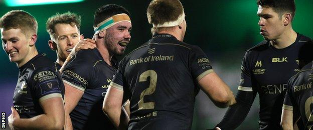 Connacht move into second place in Conference B