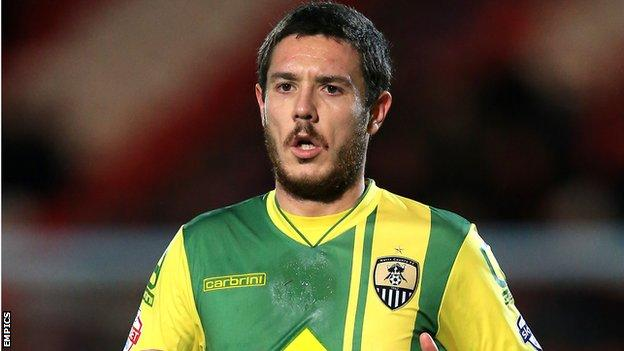 Liam Noble Notts County