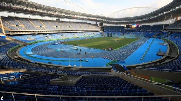 The Olympic Stadium in Rio