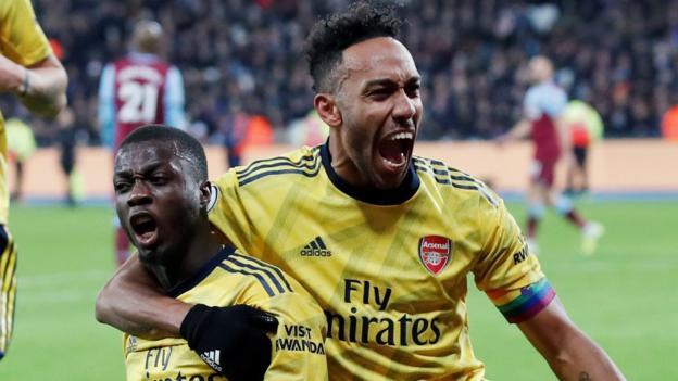 West Ham 1-3 Arsenal: Gunners gain first win under Freddie Ljungberg thumbnail