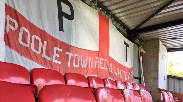 Poole Town flag