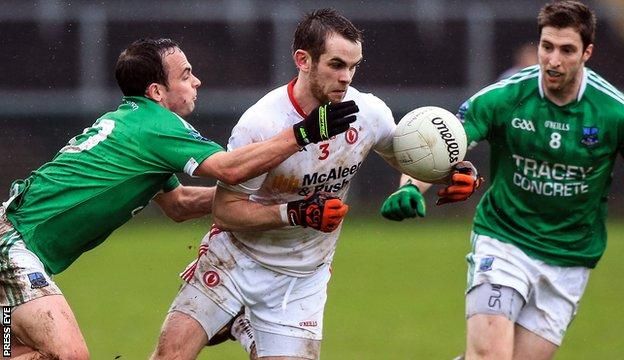 Fermanagh secured a vital point by drawing with Tyrone at Brewster Park