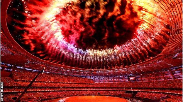European Games opening ceremony