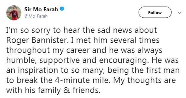 Sir Mo Farah