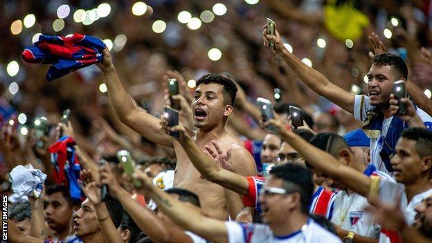 Fortaleza supporters