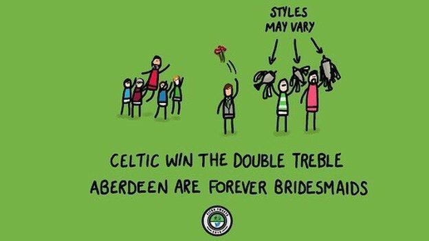 Double treble graphic