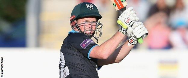 Colin Munro has scored 182 runs in his 12 T20 Blast innings for Worcestershire this summer