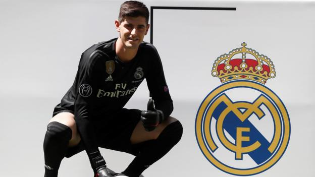 ea4e9cd5ed6 Thibaut Courtois  Chelsea keeper joins Real Madrid on transfer deadline day  - BBC Sport